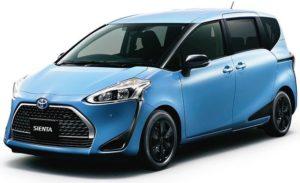 トヨタ「シエンタ」を一部改良 2種類の特別仕様車も設定