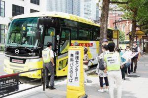 関東運輸局 管内自治体、ワクチン接種へバス・タクシー活用