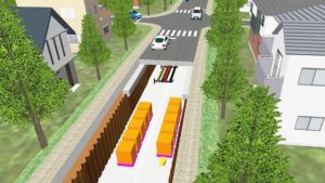 大林組とトヨタが協業 次世代型道路構想、地下空間に無人搬送車