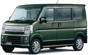 スズキ 軽乗用車「エブリイワゴン」など、一部仕様変更して発売