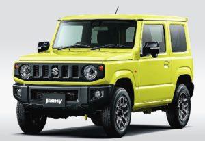 スズキ 四輪駆動車「ジムニー」一部仕様変更、10月発売
