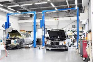 ヤナセクラシックカーセンター 〝匠の技〟で往年の名車を復活