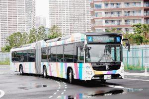 内閣府、バス正着制御システム 東京・晴海で22日から実証実験